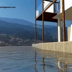 mediterranean Pool by Arquitecto Aguiar