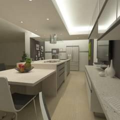 Nhà bếp by OPFA Diseños y Arquitectura