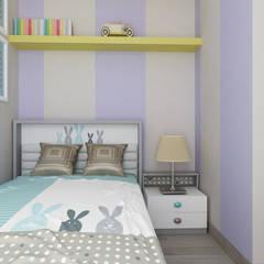 Casa SA: Stanza dei bambini in stile  di De Vivo Home Design