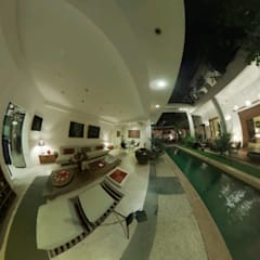 La closerie-pondicherry:  Pool by Karpita Virtual Reality Studio