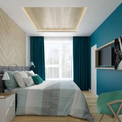WILANÓW: styl , w kategorii Sypialnia zaprojektowany przez TutajConcept