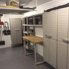 Our brand new case study!:  Garage/shed by Garageflex