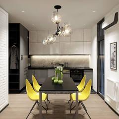 квартира в ЖК Квартал 918: Гостиная в . Автор – insdesign II