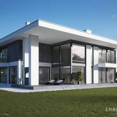 Traumhaftes Haus, traumhaftes Schlafzimmer. Unser Projekt LK&1276:  Häuser von LK&Projekt GmbH