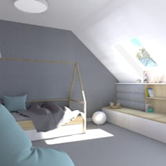 Nursery/kid's room by mia architekci s.c.