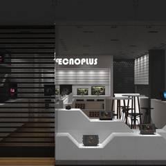 Acesso Loja: Shopping Centers  por Tendenza Arquitetura
