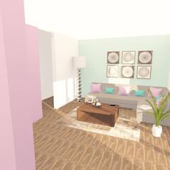 CENTRO DE ENTRETENIMIENTO: Salas multimedia de estilo  por ARDIN INTERIORISMO