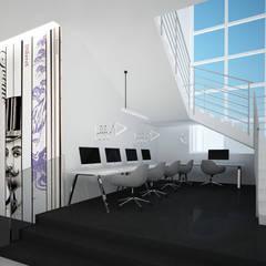 Hall wejściowy czytelni: styl , w kategorii Muzea zaprojektowany przez meinDESIGN