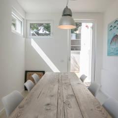 mediterranean Dining room by mc2 architettura