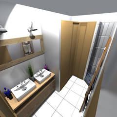 Salle de bain: Salle de bains de style  par STUDIO 88