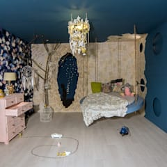 eclectic Nursery/kid's room by Nimeto Utrecht
