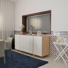 Sala de convívio familiar, 2015 - Braga: Salas de jantar  por Ci interior decor