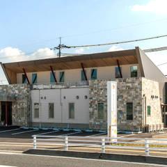 外観: 一穂・環境デザインオフィス(株)が手掛けた病院です。