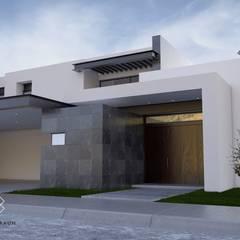 Casa SL: Casas de estilo  por Elias Braun Architecture