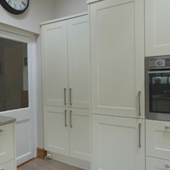 fitted-cupboards-in-shaker-style-kitchen:  Commercial Spaces by Premier Kitchens & Bedrooms