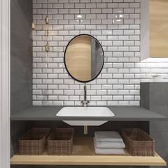 Bathroom by Kameleon - Kreatywne Studio Projektowania Wnętrz,