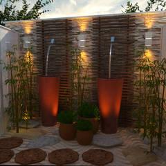 Jardim zen: Spas asiáticos por  Sotto Mayor Arquitetura e Urbanismo