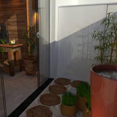 Fonte jardim zen: Spas asiáticos por  Sotto Mayor Arquitetura e Urbanismo