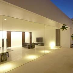 KNJ-HOUSE: 門一級建築士事務所が手掛けた庭です。