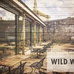 Wild Wood:  Windows  by Camel Glass