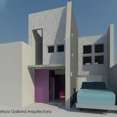En su etapa proyectual : Volumetria I: Oficinas y Tiendas de estilo  por Patricio Galland Arquitectura