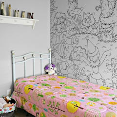 Colour your fairytale: eclectic Nursery/kid's room by Pixers