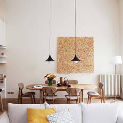 Loft - piazza Emilia - Milan: Sala da pranzo in stile  di Fabio Azzolina Architetto