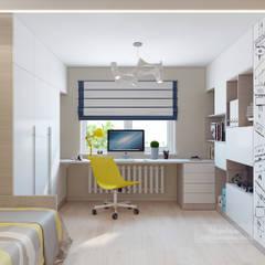 Nursery/kid's room by Студия дизайна интерьера «Чердак»