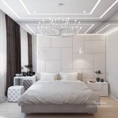 Дизайн-проект четырехкомнатной квартиры в современном стиле: Гостиная в . Автор – Студия дизайна интерьера «Чердак», Классический