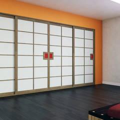 Cabina armadio giapponese: Camera da letto in stile in stile Asiatico di Arpel