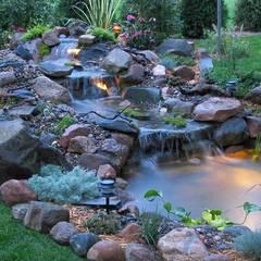حیاط by Bio Göl Havuz (Biyolojik Gölet ve Havuz Yapısalları)
