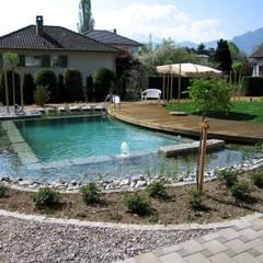 สระว่ายน้ำ by Bio Göl Havuz (Biyolojik Gölet ve Havuz Yapısalları)