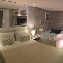 Casa 198: Quartos  por MO Arquitetura Ltda,Mediterrâneo