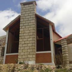 Cabaña de Descanso: Casas de estilo  por ARCO +I, Rústico
