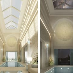 Exquisite Indoor Pool Design Ideas:  Pool by IONS DESIGN