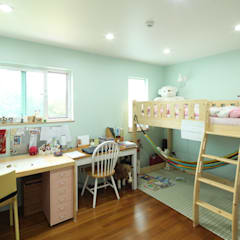 Nursery/kid's room by 위드하임