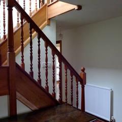 Refurbishment in Ullapool:  Corridor & hallway by Matheson Mackenzie Ross Architects