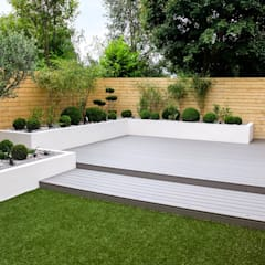 Small, low maintenance garden:  Garden by Yorkshire Gardens