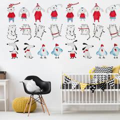 Little Friends:  Nursery/kid's room by Pixers