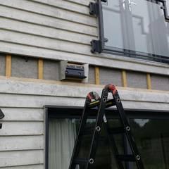 Bespoke brackets:  Terrace by Premier Blinds, Shutters & Awnings