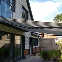 Providing an outdoor room:  Terrace by Premier Blinds, Shutters & Awnings