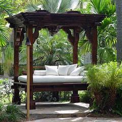 decoracion jardin de hotel : Hoteles de estilo  de Ale debali study