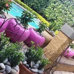 Rietfontein: mediterranean Pool by Gorgeous Gardens