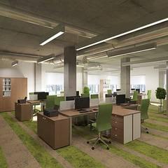 """Офис золотодобывающей компании """"Kinross"""": Конференц-центры в . Автор – Design studio of Stanislav Orekhov. ARCHITECTURE / INTERIOR DESIGN / VISUALIZATION."""
