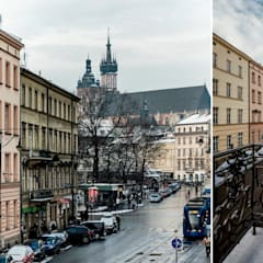 BOUTIQUE HOTEL - IMAGINE APARTMENTS - ul. Starowiślna 4 Kraków od MANGO STUDIO Klasyczny