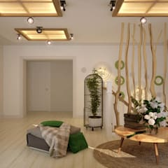 اتاق نشیمن by Студия интерьерного дизайна happy.design