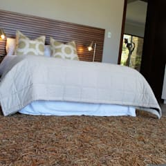 Simbithi Eco Estate 2:  Bedroom by Margaret Berichon Design, Classic Solid Wood Multicolored