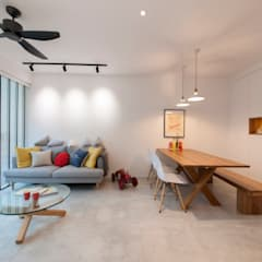 WATERCOLOURS:  Living room by Eightytwo Pte Ltd,