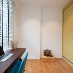 WATERCOLOURS:  Study/office by Eightytwo Pte Ltd
