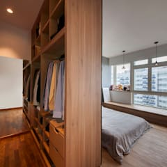 COSTA DEL SOL Scandinavian style dressing room by Eightytwo Pte Ltd Scandinavian